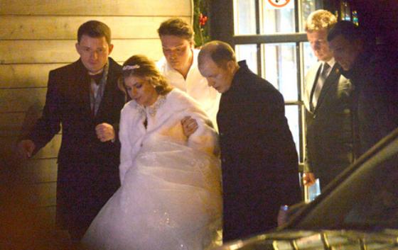 Кириленко и Степанов сыграли свадьбу в минувшие выходные