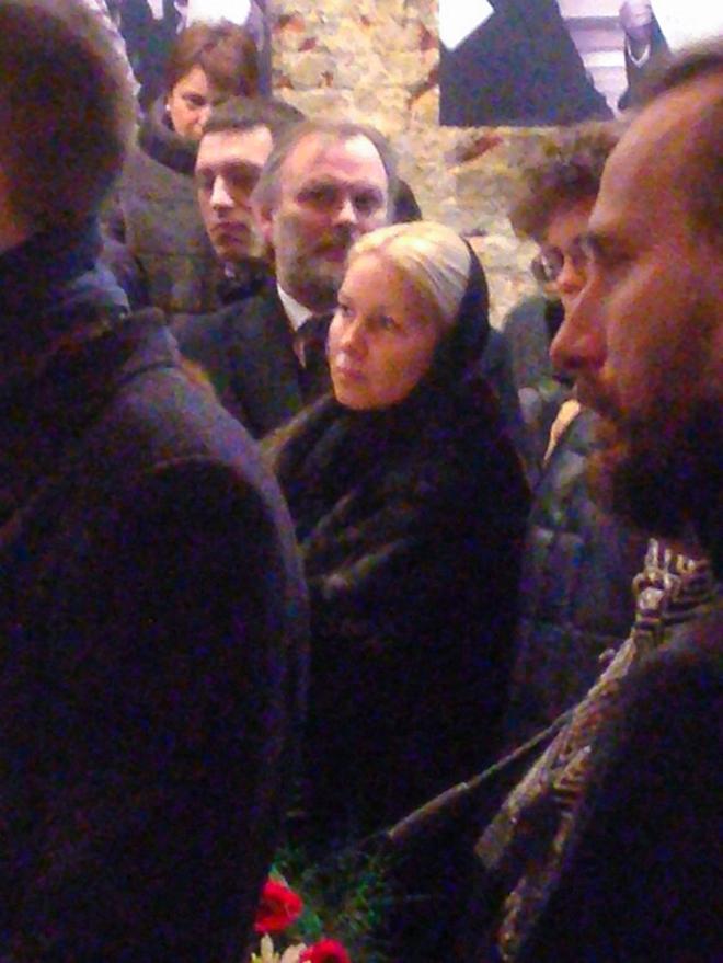 Бывшая гражданская супруга политика Екатерина Одинцова