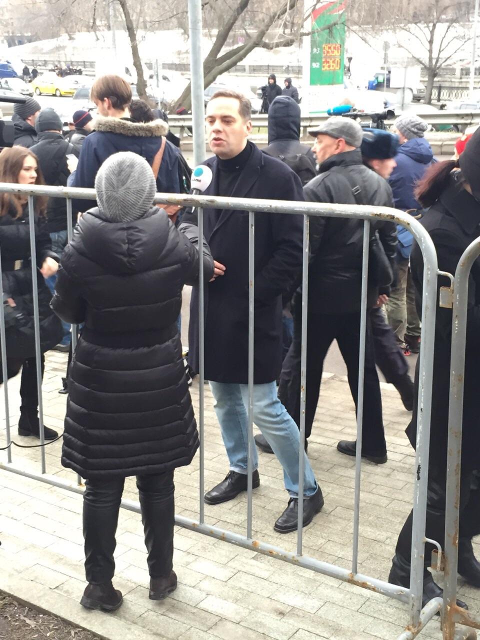 Председатель российской политической партии «Демократический выбор» Владимир Милов
