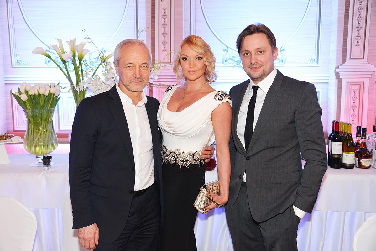 Евгений Герасимов, Анастасия Волочкова и Артем Михалков