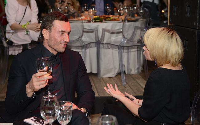 Экс-бойфренд Бородиной весь вечер любезничал с гостьями премии
