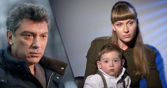 Борис Немцов, Екатетериа Ифтоди с сыном Борей