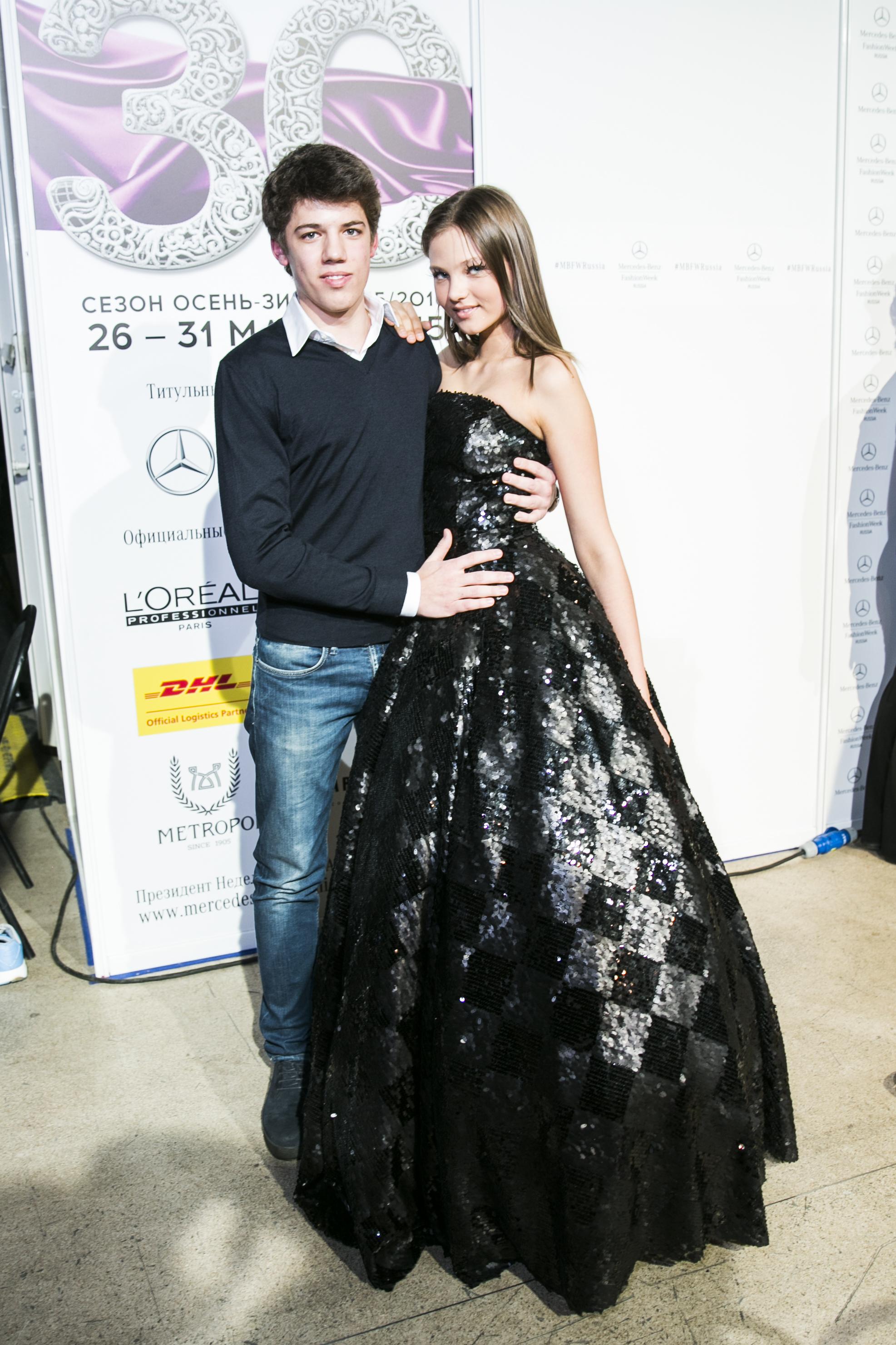 Никита Новиков и Леся Кафельникова
