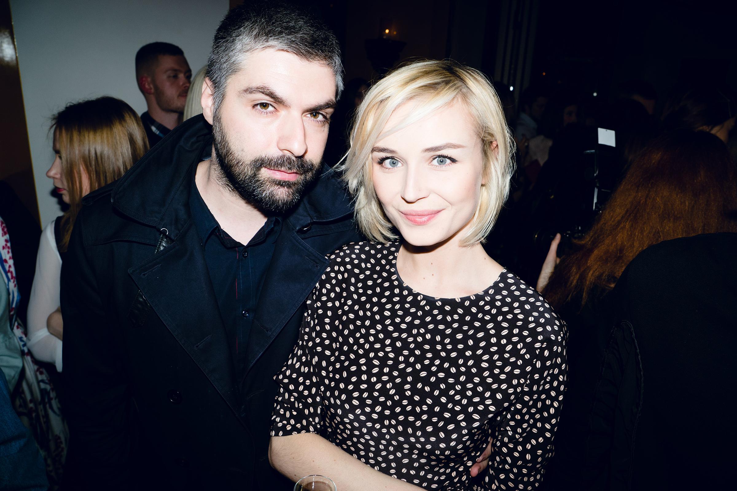 Фотограф Дмитрий Исхаков с певицей Полиной Гагариной