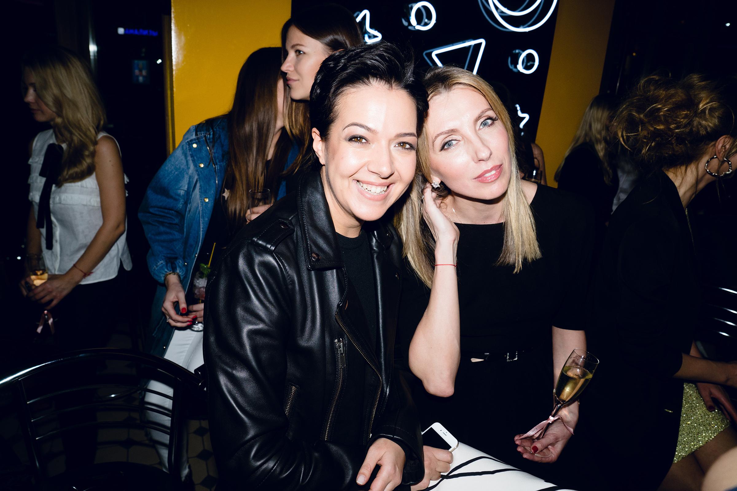 Ксения Чилингарова и Светлана Бондарчук