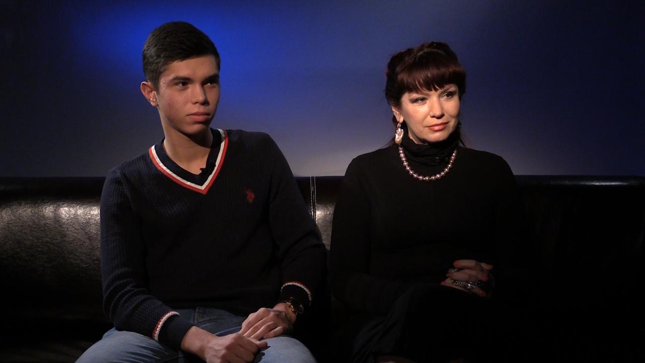 Дизайнер Анна Лесникова с сыном