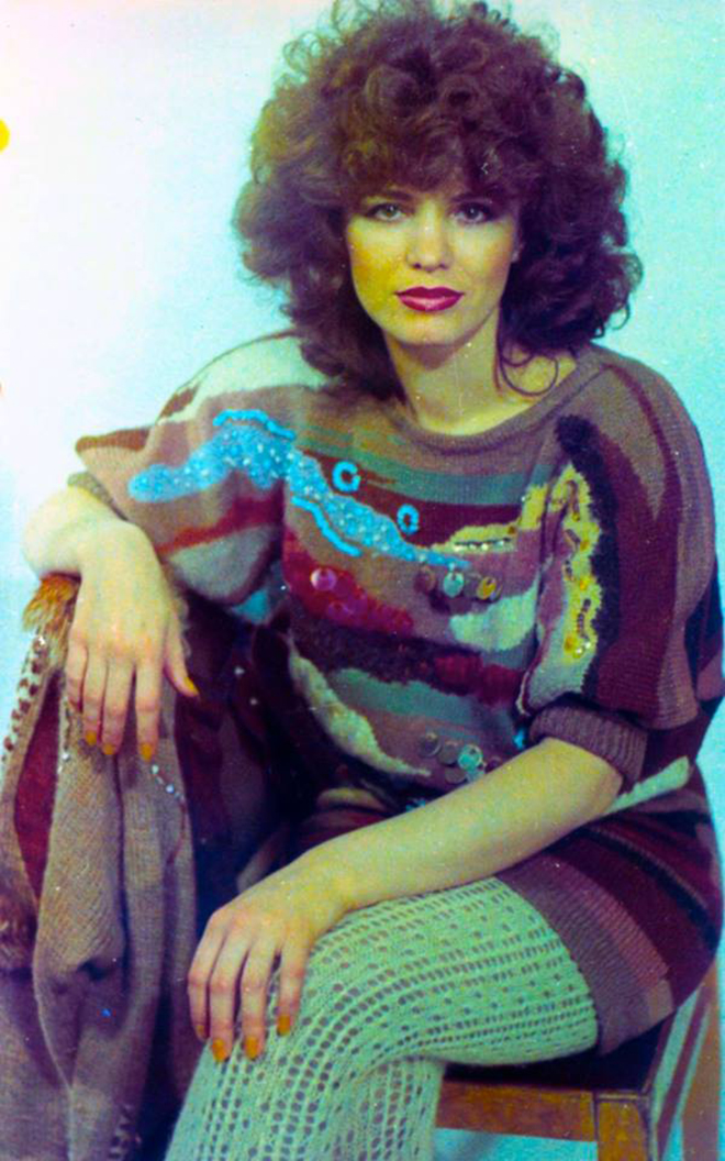 Анна Лесникова в молодости