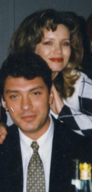 Анна Лесникова и Борис Немцов в 90-е годы