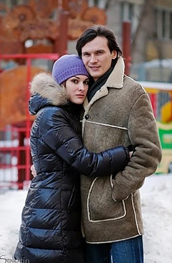 Влад Сташевский с нынешней супругой Ириной Мигуля