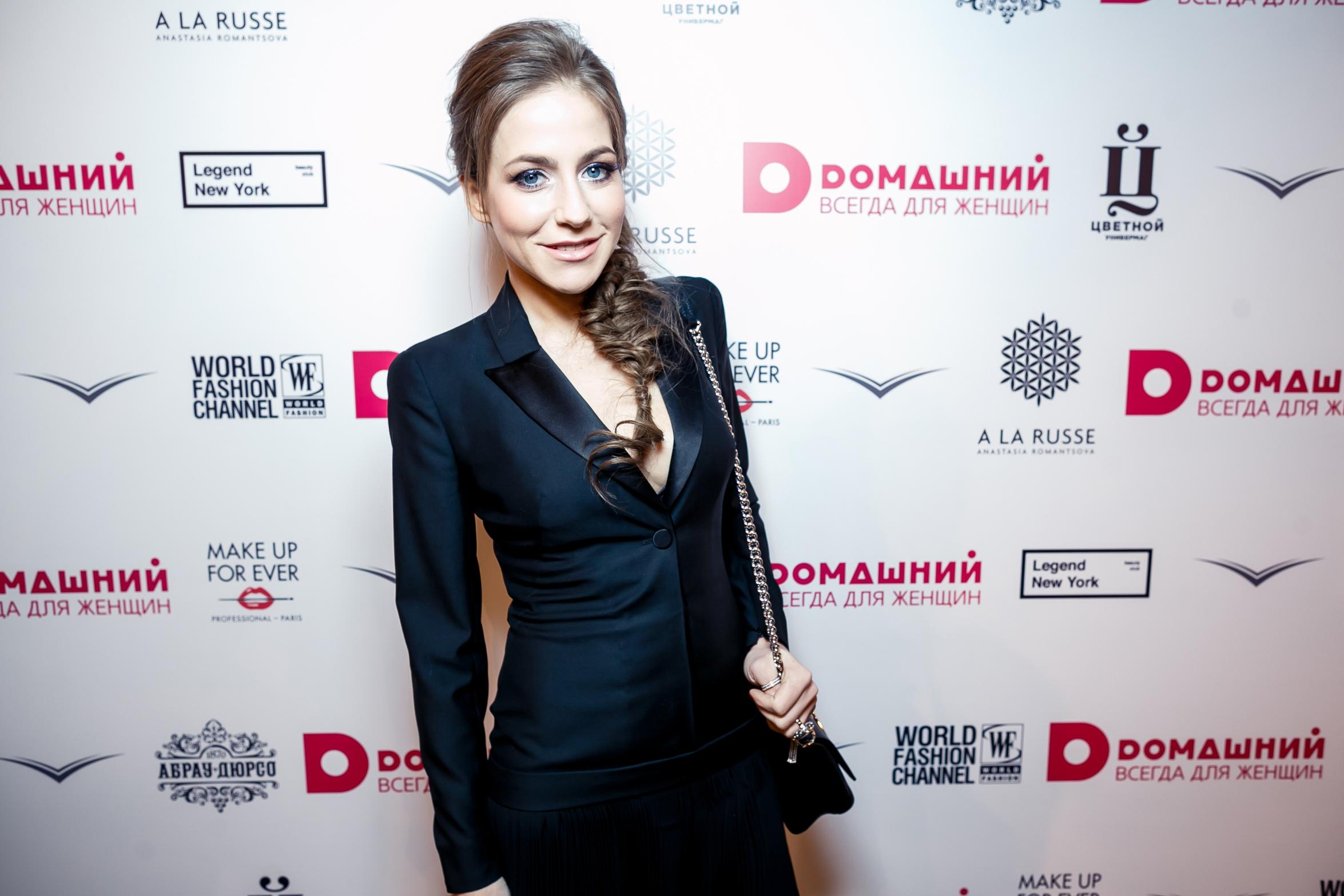Телеведущая Юлия Барановская