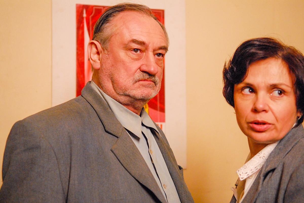 Роль в сериале «Однажды в Ростове» стала для Богдана Ступки последней
