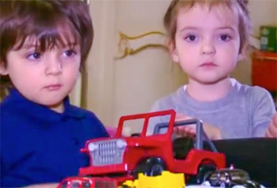Дети Киркорова — Мартин и Алла-Виктория растут в полноценной семье с мамой и папой (фото НТВ)