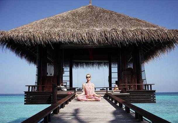 Столье предпочитает отдыхать на фешенебельных курортах
