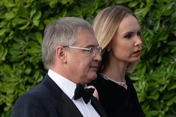Илона Столье с мужем Виталием Южилиным