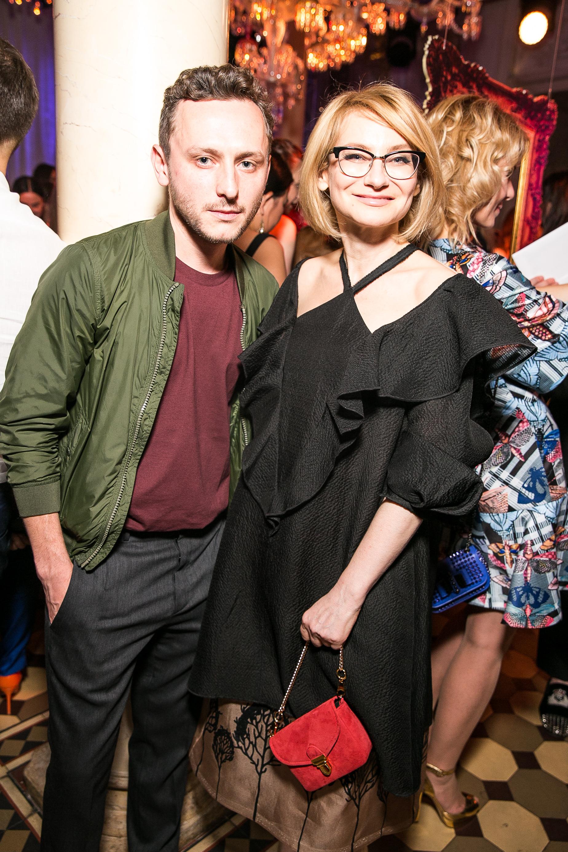 Дизайнер Андрей Артемов и журналист Эвелина Хромченко