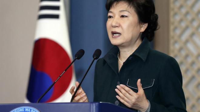 Президент Южной Кореи Пак Кын Хе. Фото: Reuters