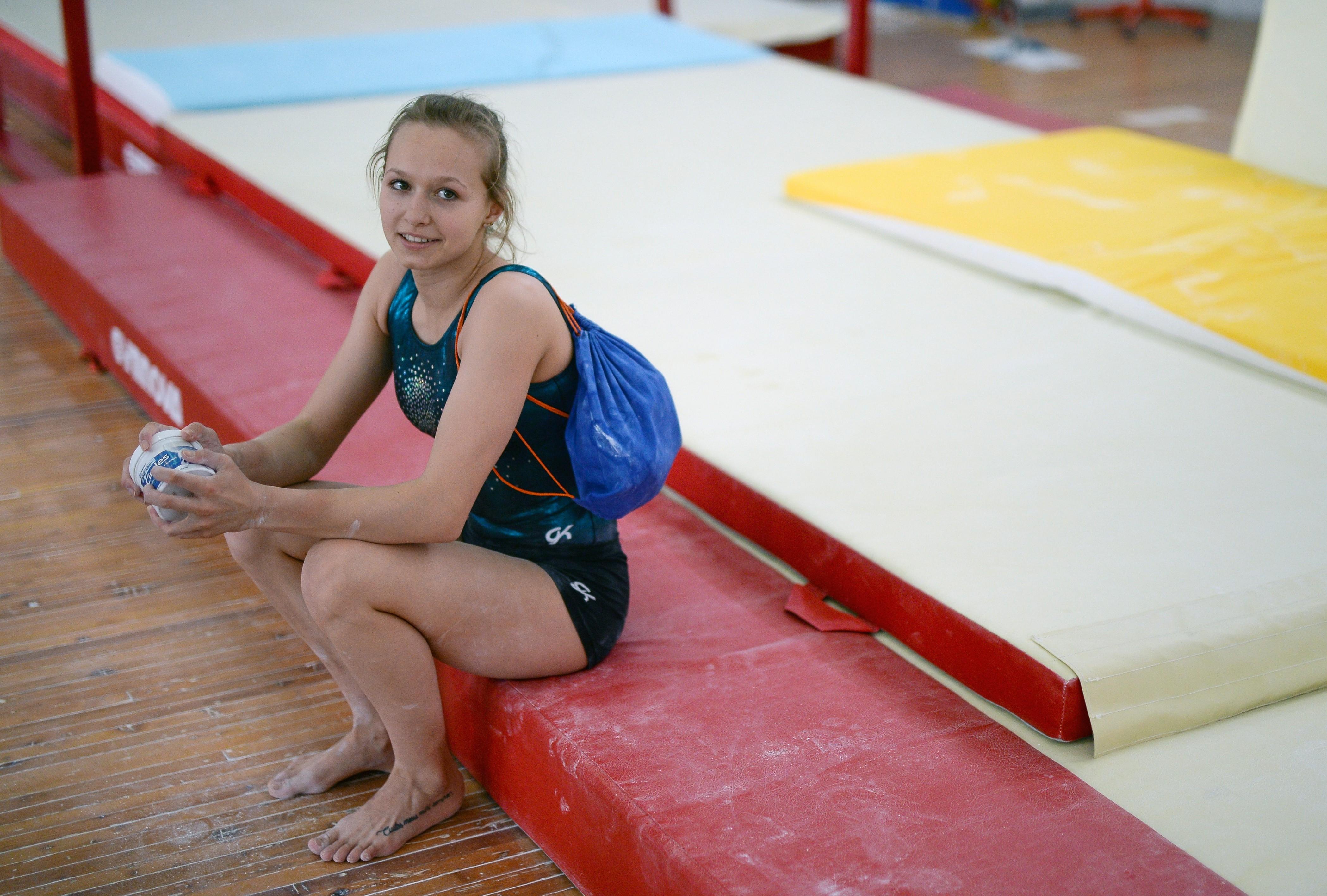 <p>Российская гимнастка Дарья Спиридонова в ожидании разрешения выступить в Рио-де-Жанейро. Фото: <span>&copy;</span>&nbsp;РИА Новости/Владимир Астапкович</p>