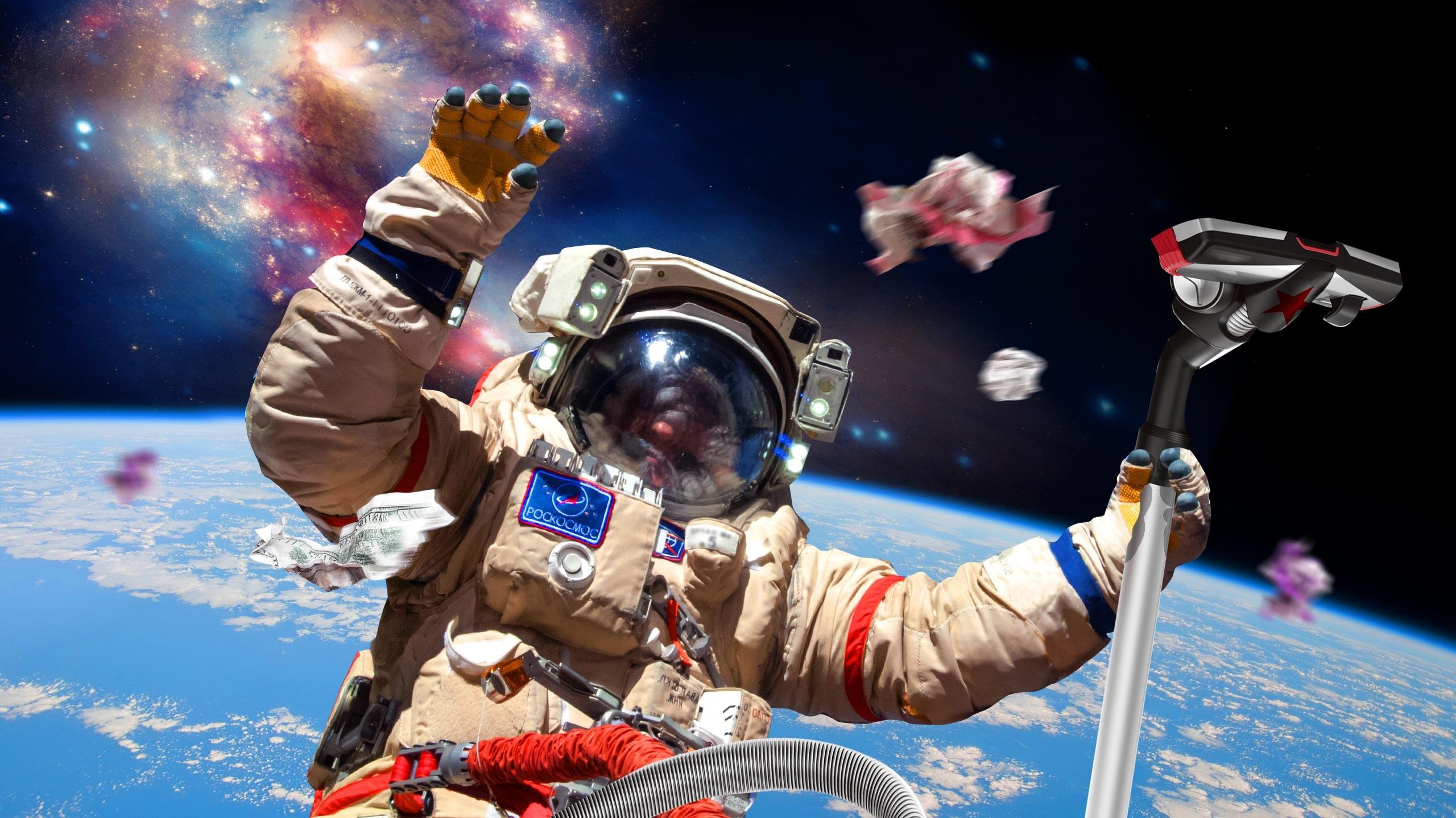 главное космический мусор картинки печь-шведка декорирована