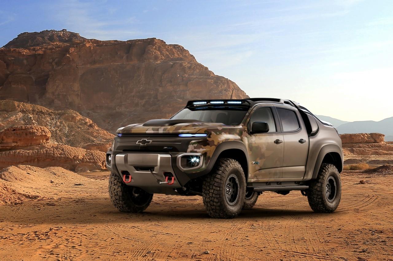 <p>Chevrolet Colorado ZH2. Фото: &copy; GM</p>