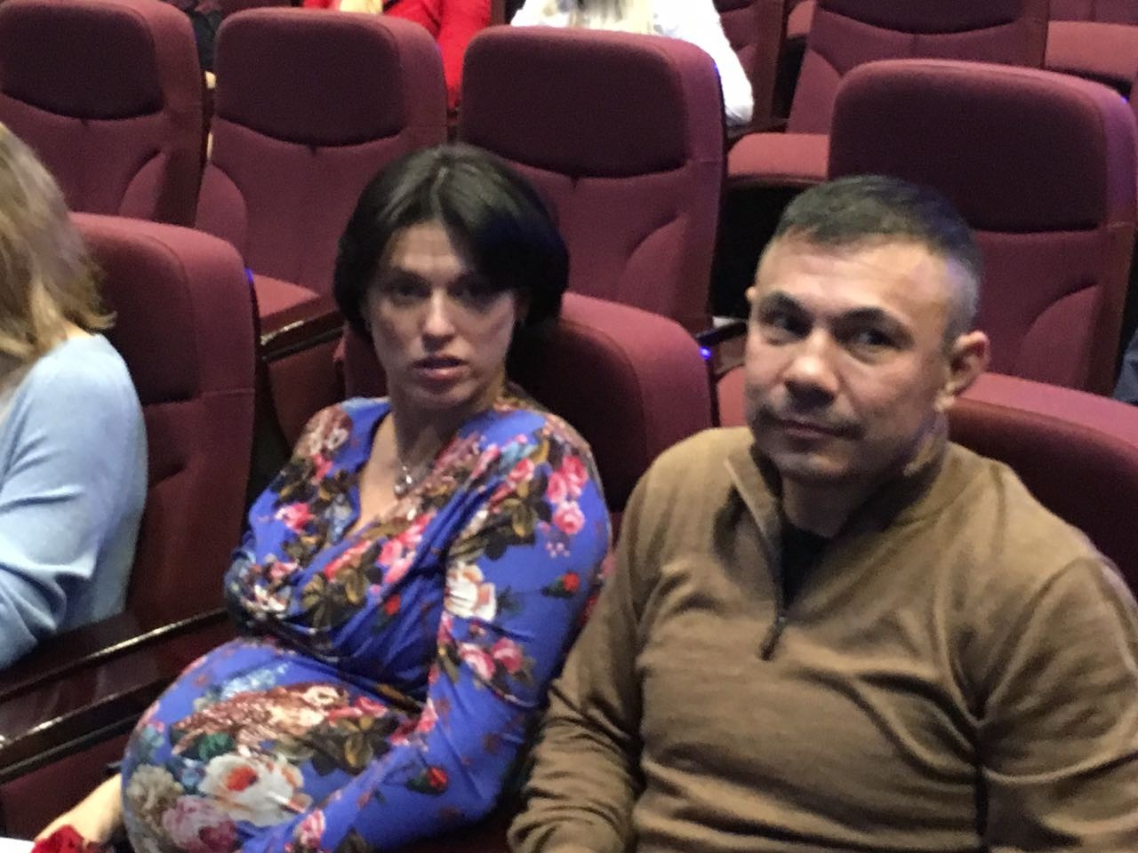 <p>Костя Цзю с супругой Татьяной Авериной</p> <p>Фото: L!FE</p>