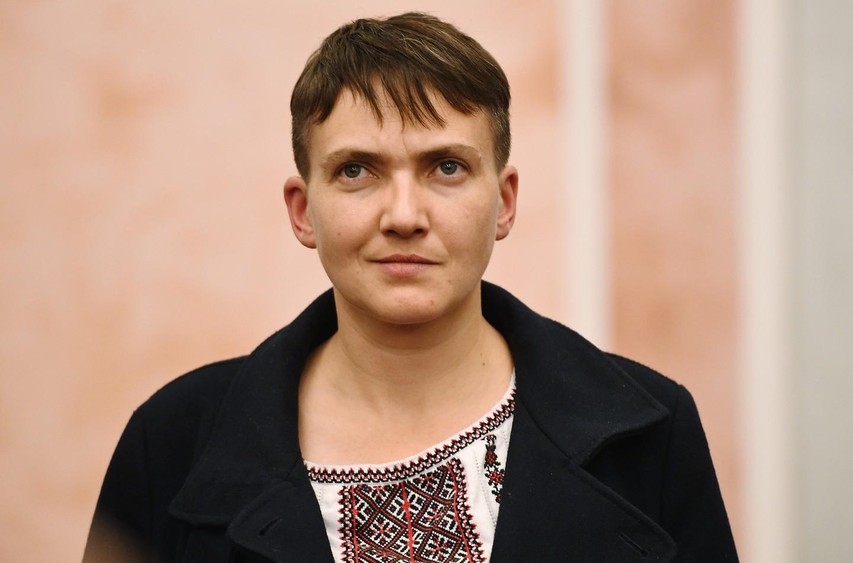 фото возвращения савченко единственная