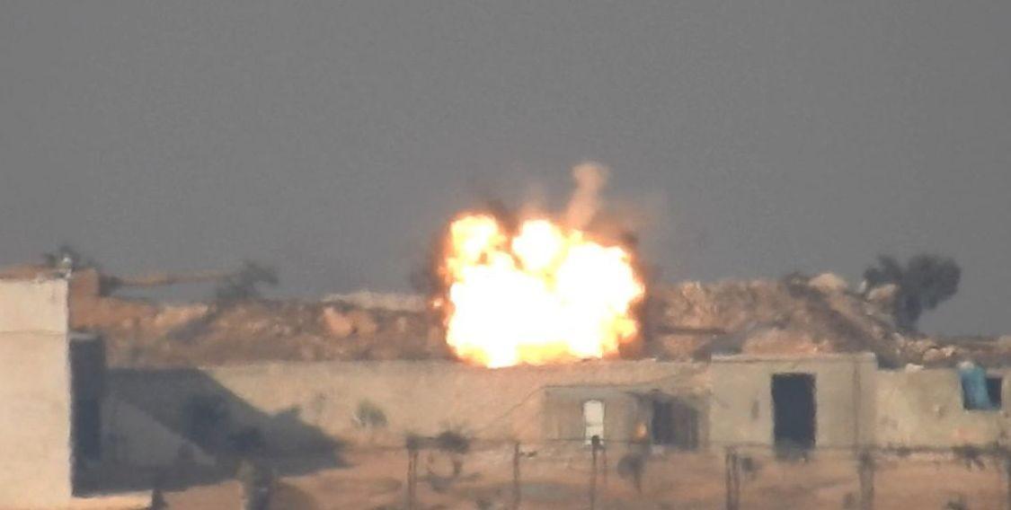 "<p>Кадр видео &ldquo;<a href=""https://www.youtube.com/watch?v=V1tzx9iv4-I"" target=""_blank"">В Сирии подбили первый турецкий танк Leopard 2</a>&rdquo;. Скриншот &copy; L!FE</p>"