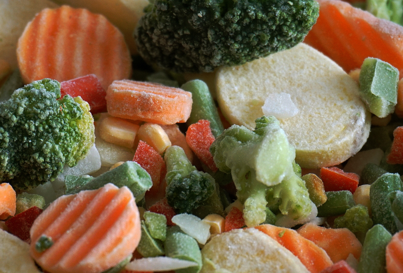 Есть ли польза от замороженных овощей{q}