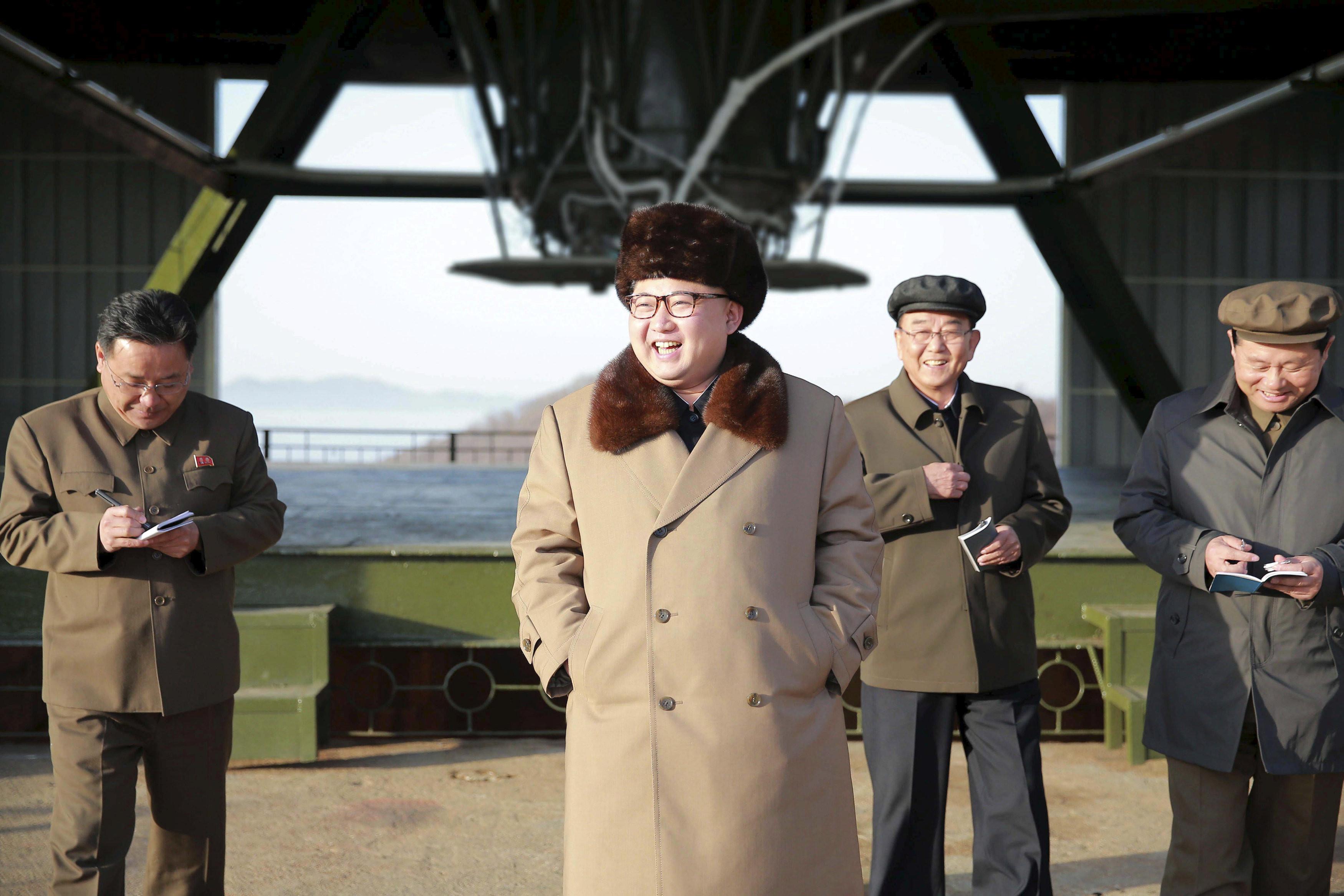 <p>Фото: &copy;&nbsp;<span>KCNA/via REUTERS</span></p>