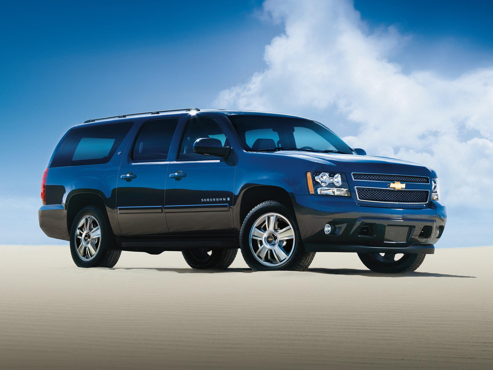 <p>Chevrolet Suburban. Фото: &copy; Chevrolet</p>