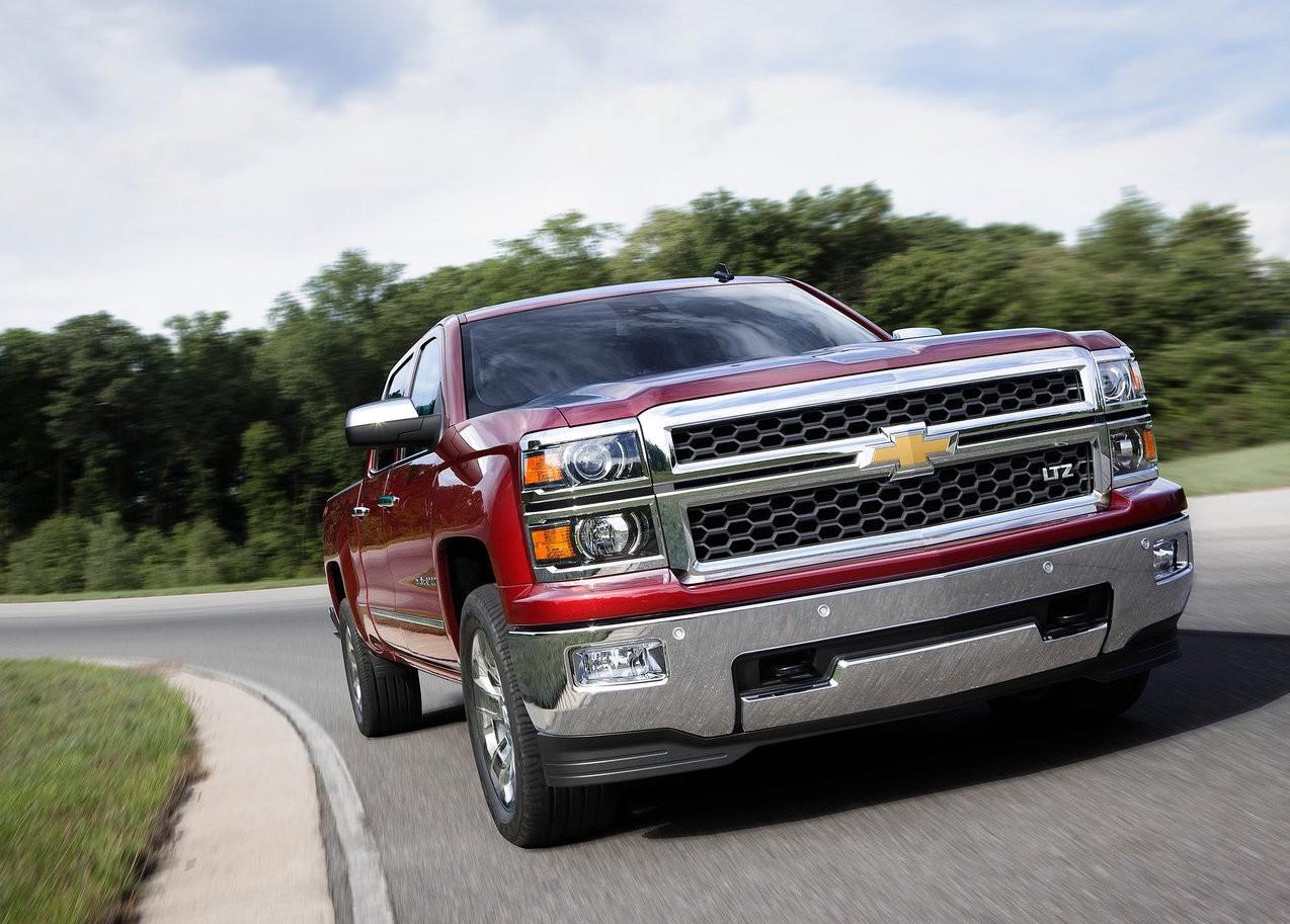 <p>Chevrolet Silverado. Фото: &copy; GM</p>