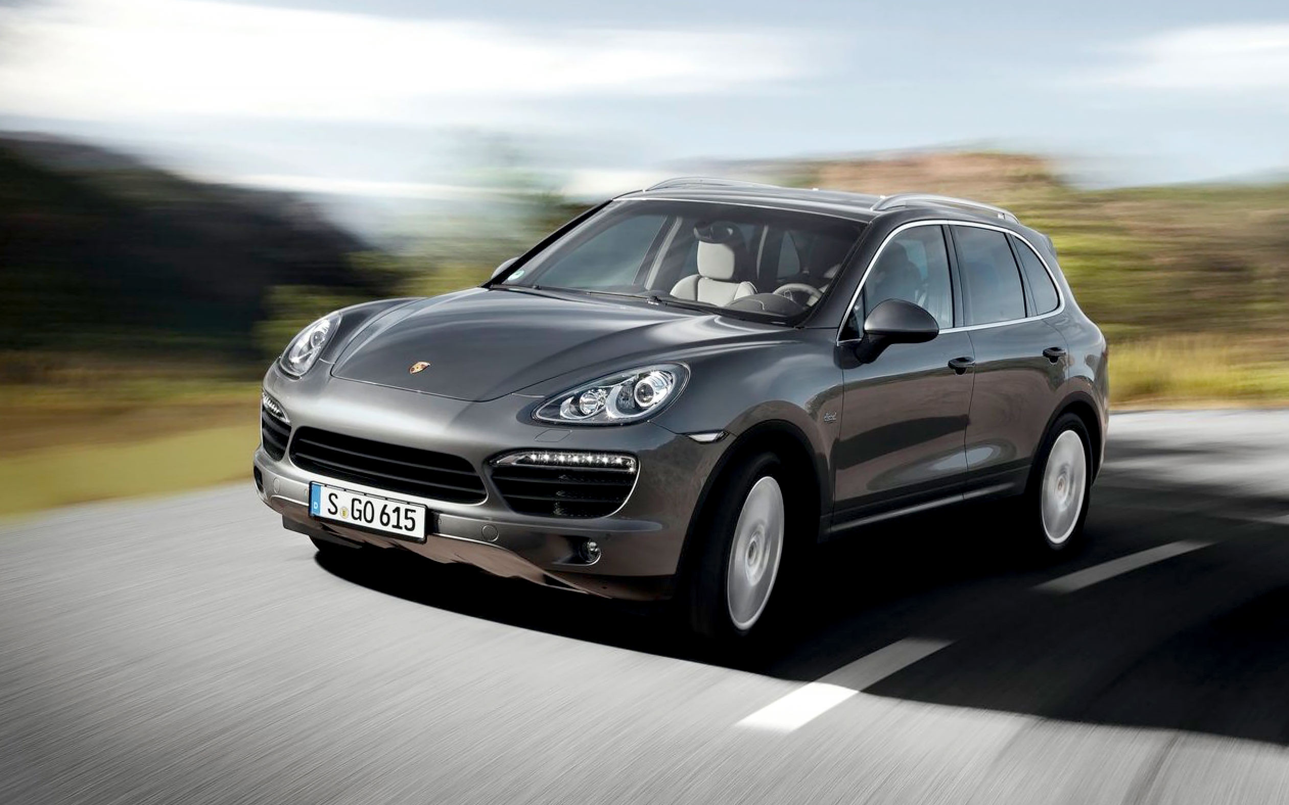 <p>Porsche Cayenne. Фото: &copy; Porsche</p>