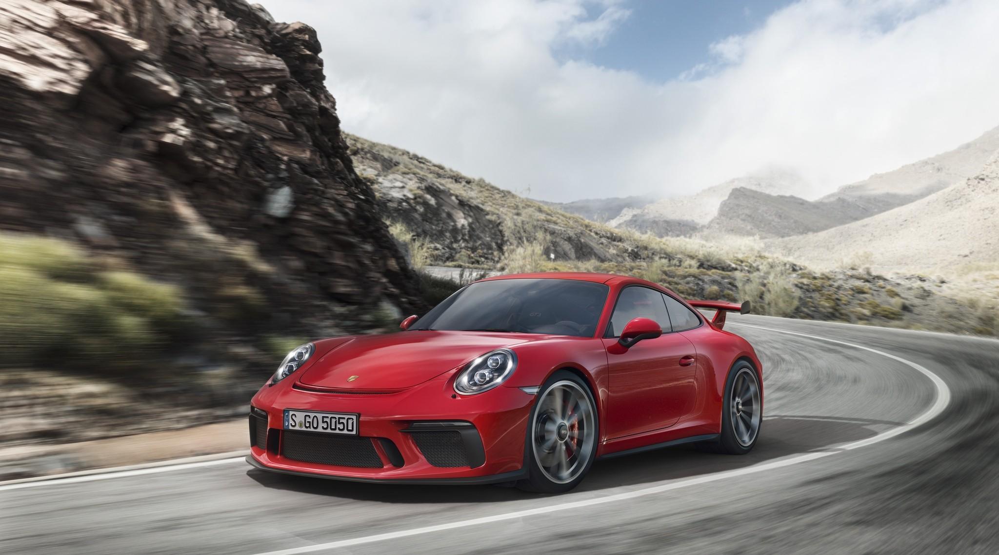<p><span>Porsche 911 GT3. Фото: &copy; Porsche</span></p>