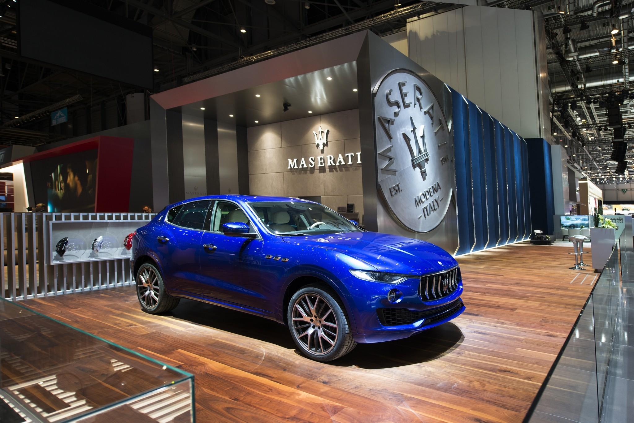 <p><span>Maserati Levante Ermenegildo Zegna. Фото: &copy; Maserati</span></p>