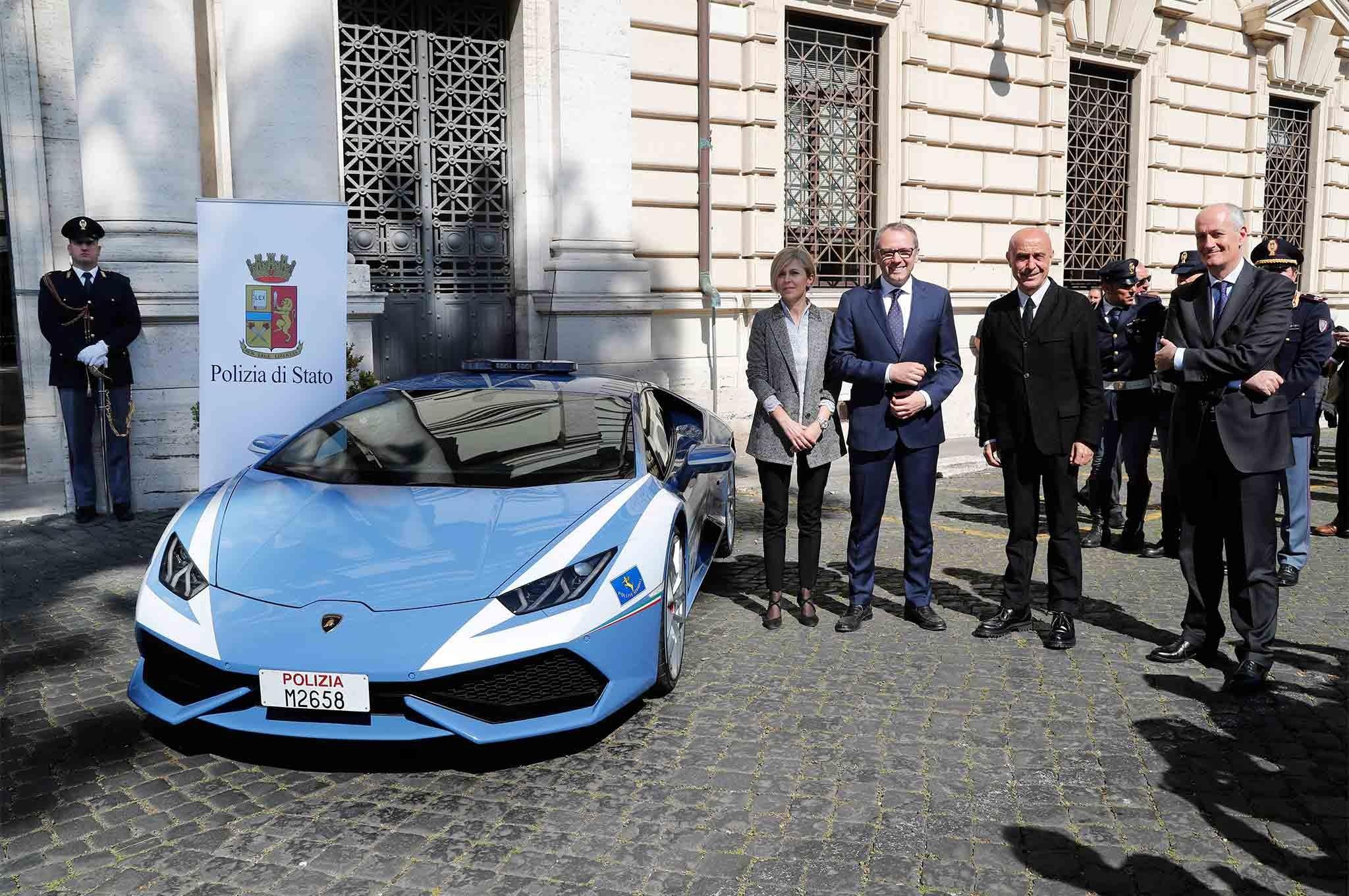 <p><span>Lamborghini Huracan Polizia. Фото: &copy; Lamborghini</span></p>