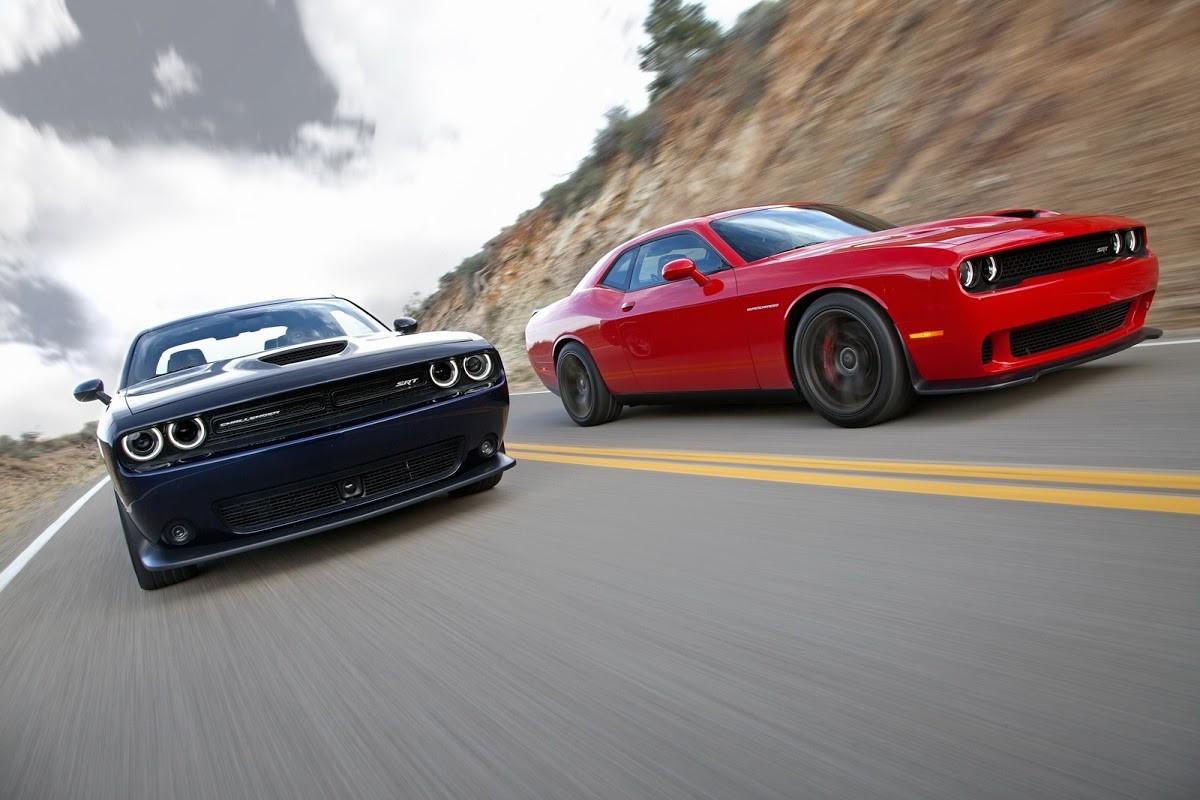 <p>Dodge Challenger SRT Hellcat. Фото: &copy; Dodge</p>