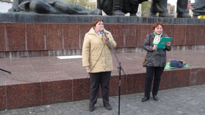 <p>Наталья Фёдорова слева. Фото:&nbsp;yabloko.ru</p>