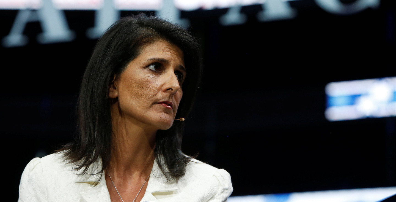 <p><span>Постперд США при ООН Никки Хейли. Фото: &copy;&nbsp;</span><span>REUTERS/Joshua Roberts</span></p>