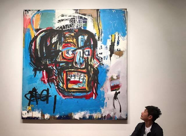 "<p>Картина Жан-Мишеля Баскии ""Без названия"". Фото: Facebook/Jean-Michel Basquiat</p>"