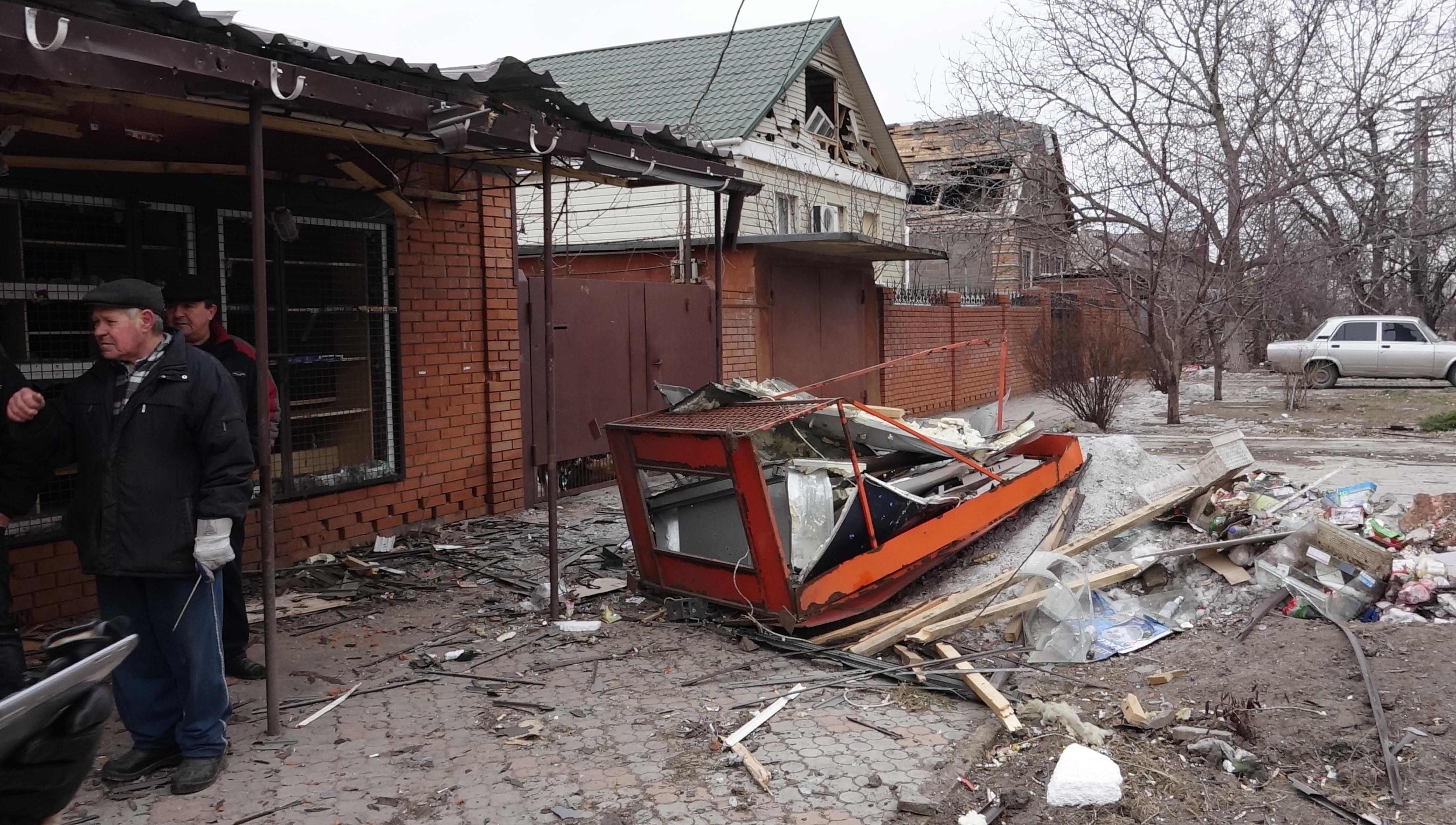 <p><span>Разрушенные частные дома в результате обстрела города Маруиполя.&nbsp;</span>Фото: &copy;РИА Новости/Никита Сергеев</p>