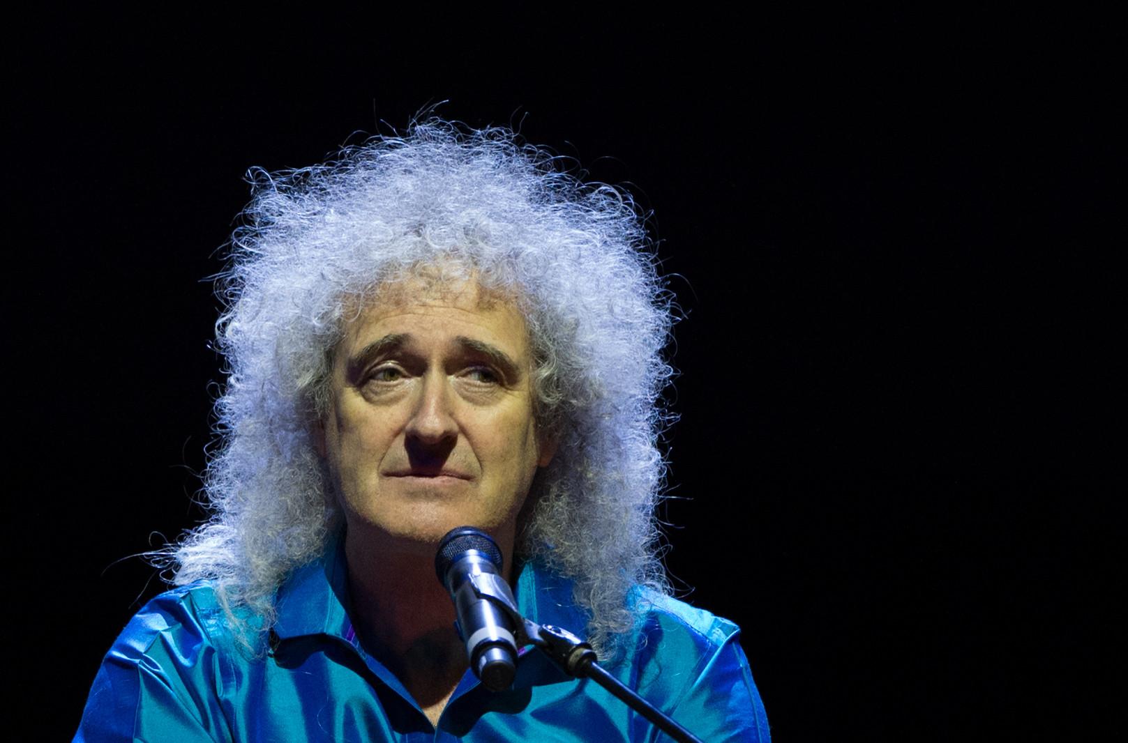 <p><span>Бывший гитарист британской рок-группы Queen Брайан Мэй.&nbsp;</span>Фото: &copy;РИА Новости/Максим Блинов</p>