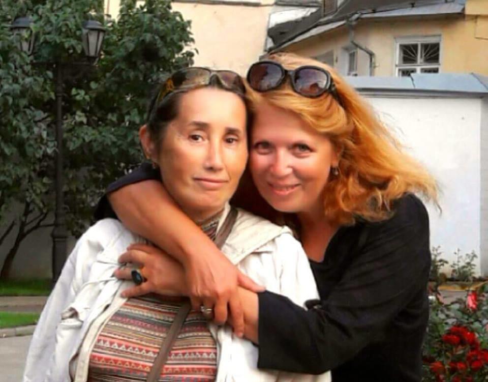 Фото из личного архива Наталии Большаковой. С Еленой Отрепьевой