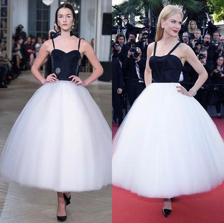 Платье из коллекции Edem Couture 2016 года и платье из коллекции Calvin Klein 2017 года Фото: Социальные сети