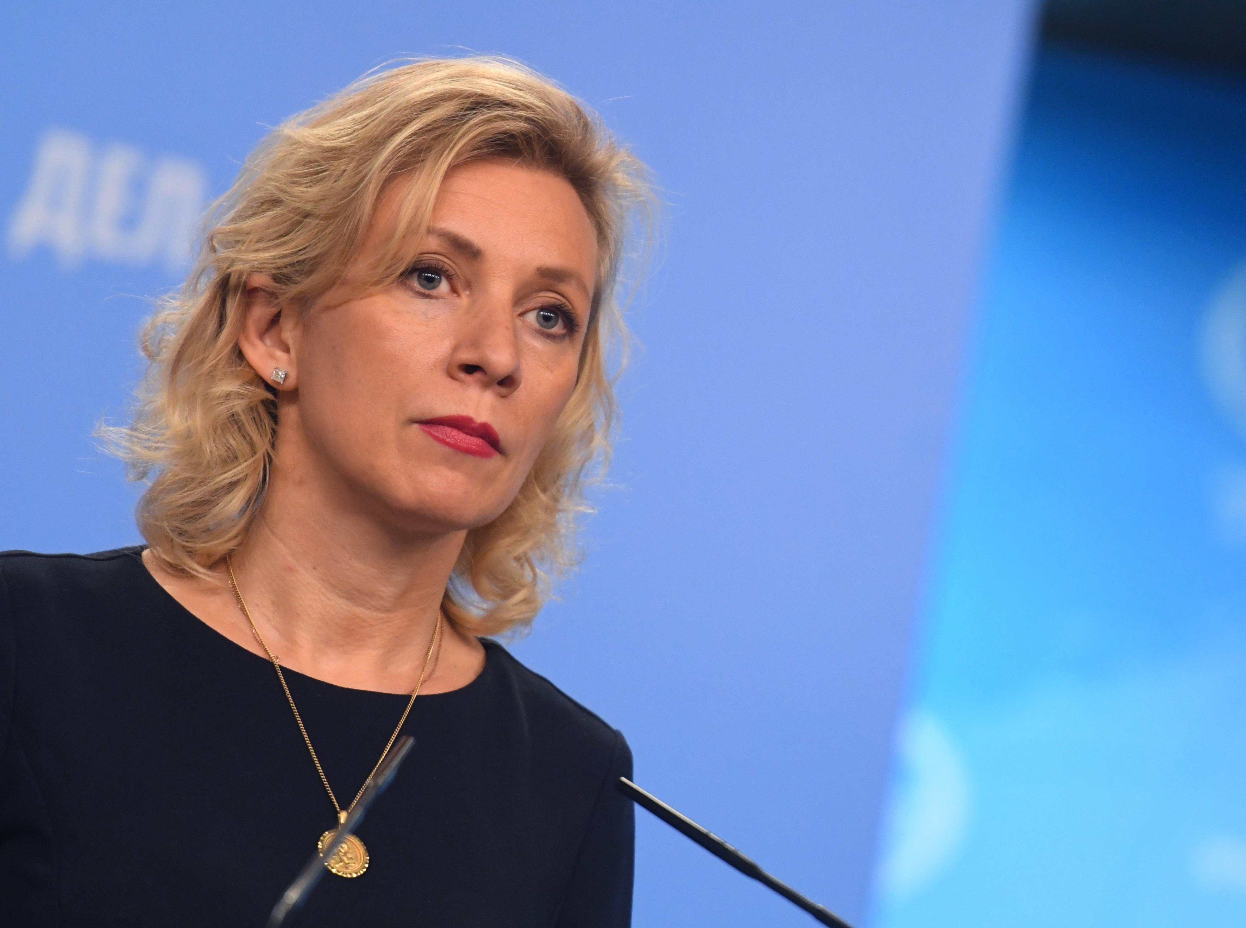 <p>Мария Захарова. Фото:&copy; РИА Новости/Евгений Биятов</p>