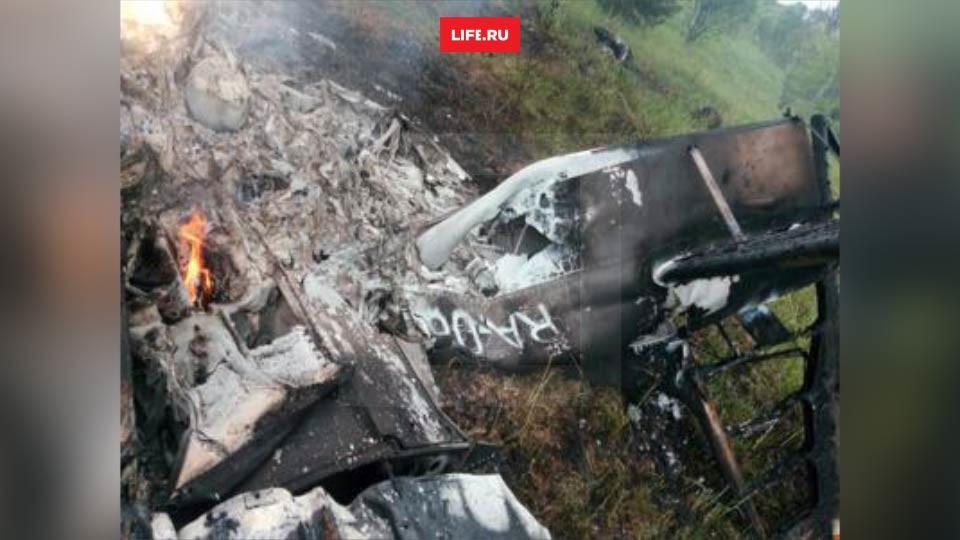 Крушение в Можайском районе Подмосковья. Фото: © L!FE