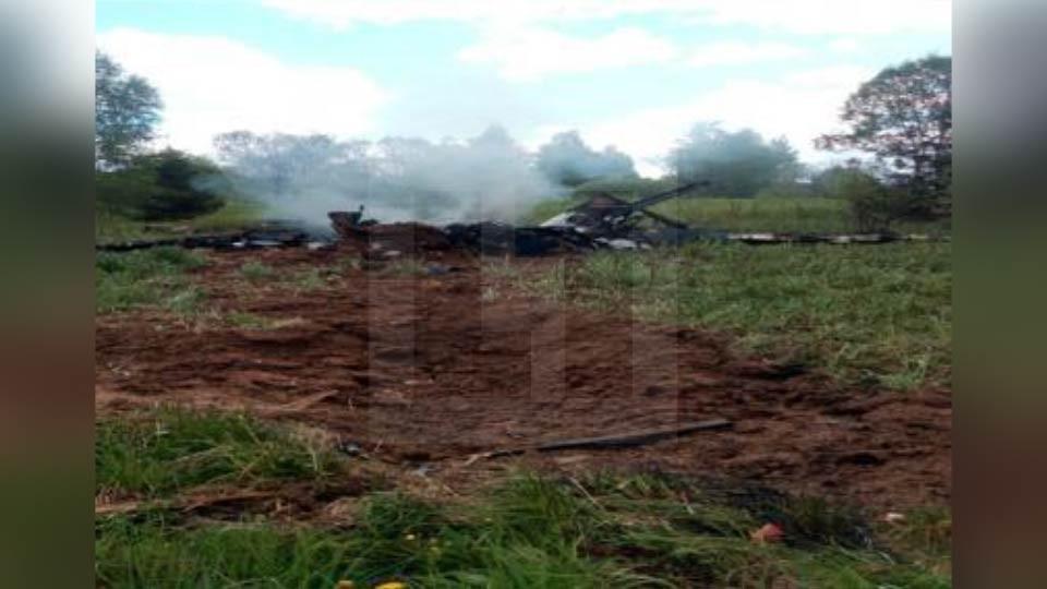 <p><span>Крушение Як-18 в Можайском районе Подмосковья. Фото: &copy; L!FE</span></p>