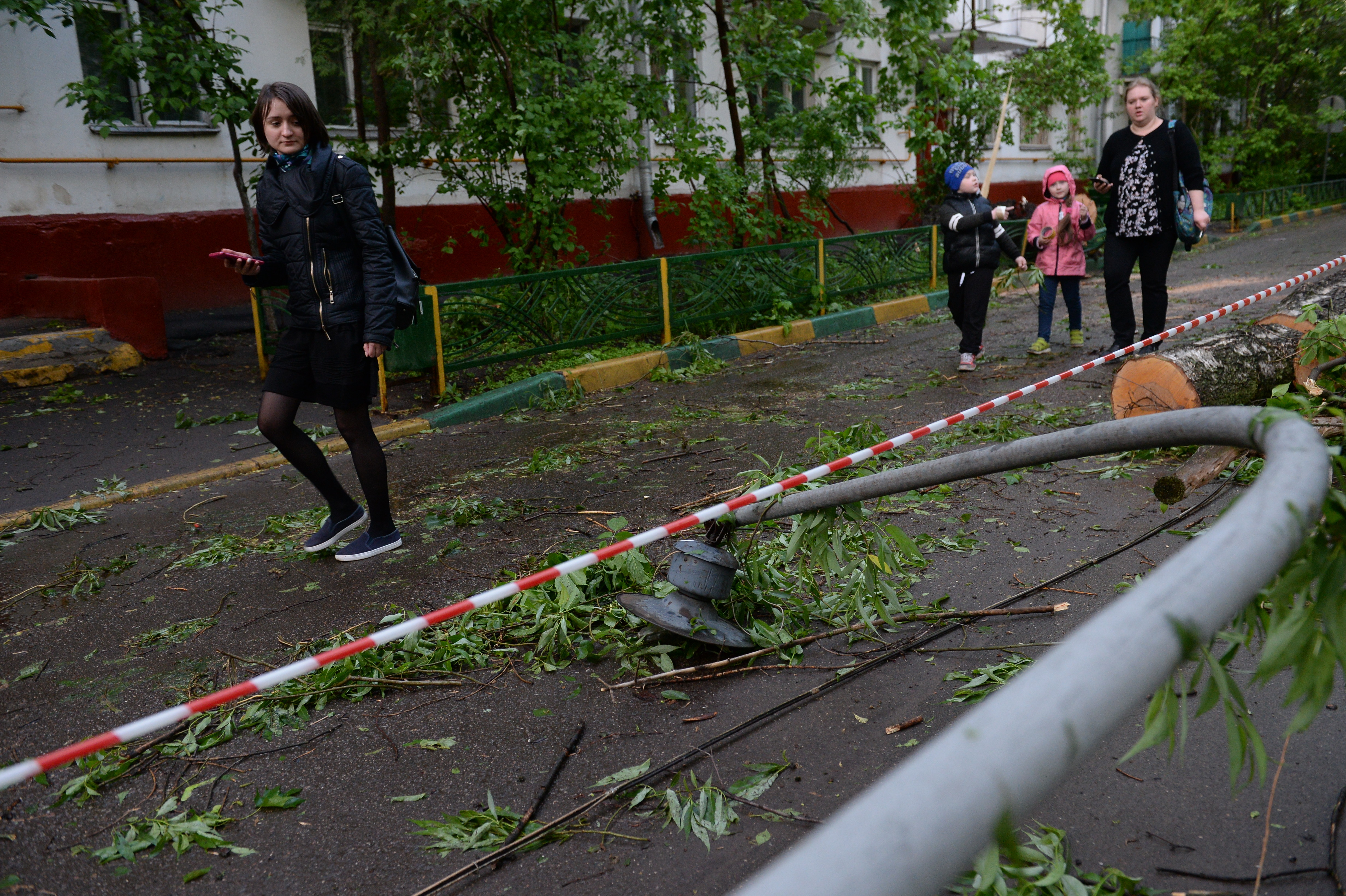 <p>Последствия урагана, пронёсшегося 29 мая в Москве. Фото:<span>&copy; РИА Новости/Евгений Одиноков</span></p>