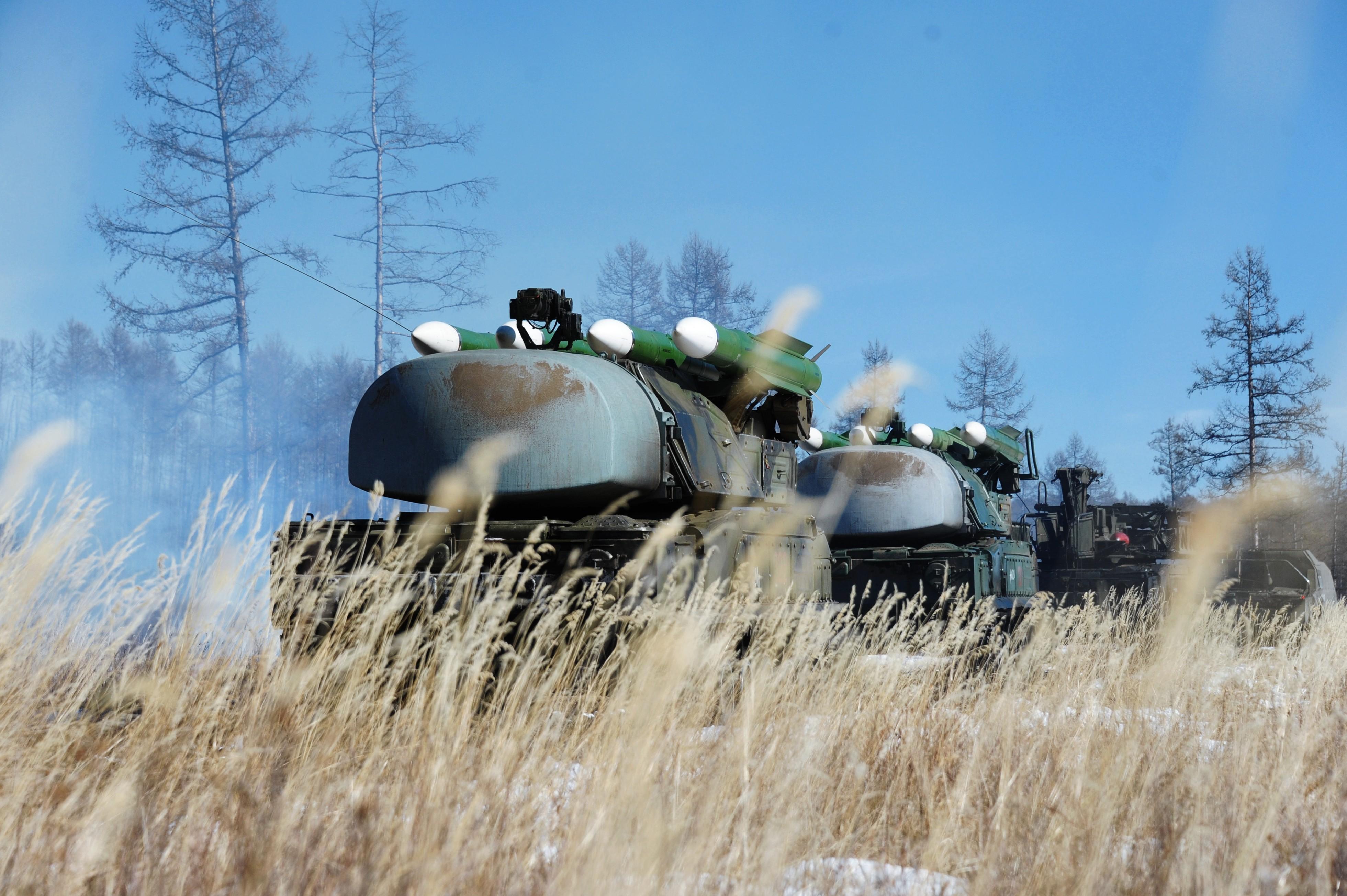 """ЗРК """"Бук"""". Фото: ©РИА Новости/Евгений Епинчинцев"""