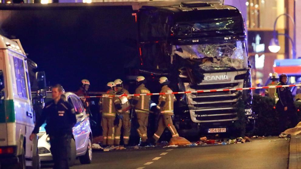 Теракт в Берлине. Фото: © Reuters