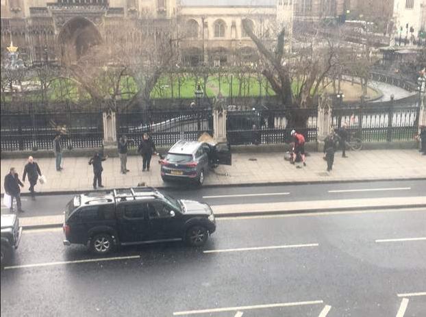 Теракт в Лондоне. Фото: © Reuters