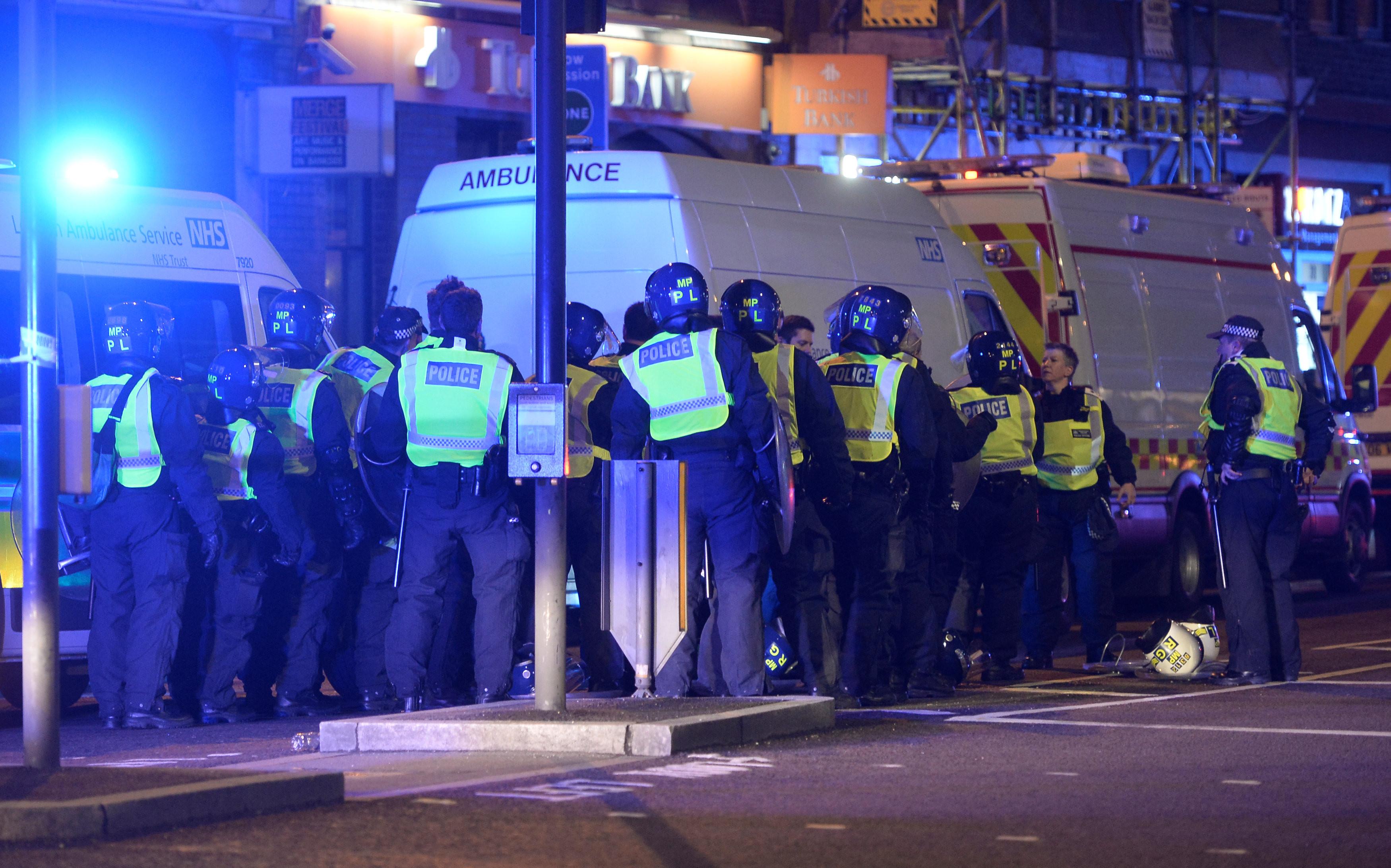 <p>Место ЧП в Лондоне. Фото: &copy;&nbsp;<span>Reuters/Hannah McKay</span></p>
